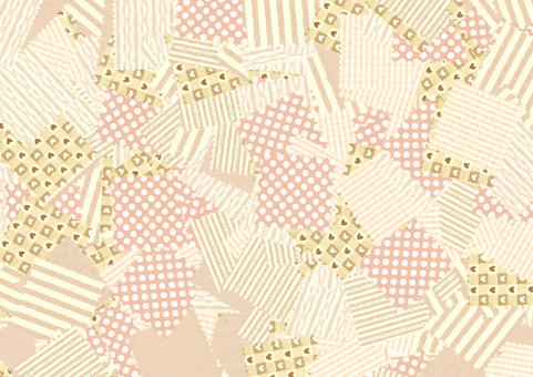 Patchwork background (yellow)