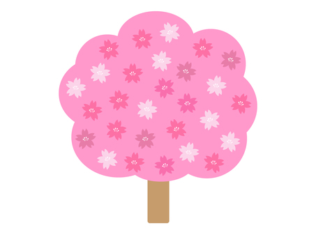 Cherry tree icon