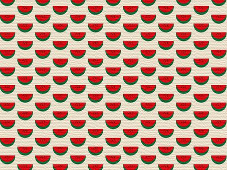 Azabu-style watermelon wallpaper material