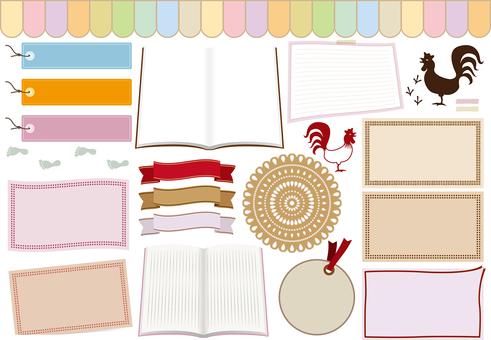 Material item gathering