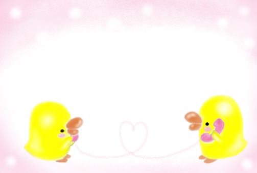 Lovely chick ♪