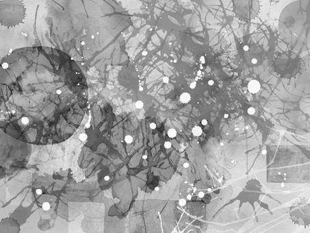 Watercolor Grunge 3 (monochrome)