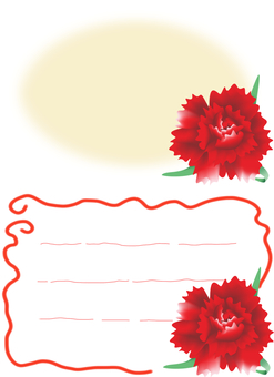 Carnation is one wheel ~ (red)