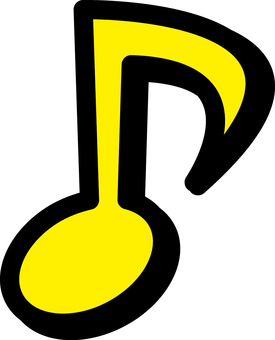 Eighth note _02_ Yellow