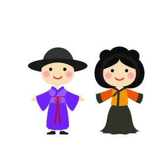 Male and female Hanbok 4