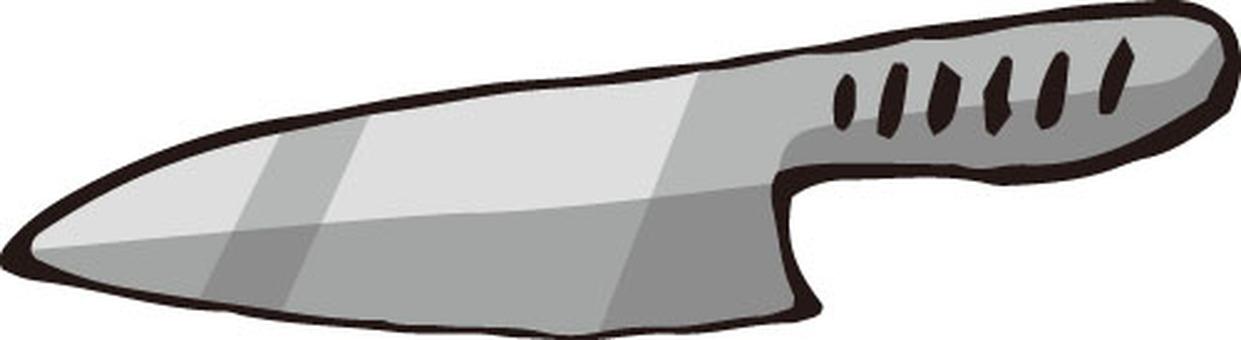 Kitchen knife (stainless steel)