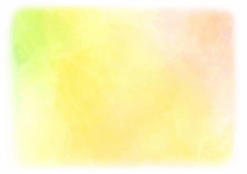 수채화 풍의 배경 소재 _ 옐로우