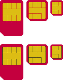 sim card, smartphone, tablet