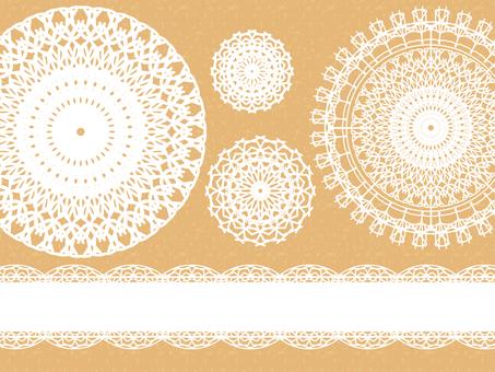Lace pattern B