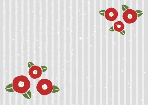 Camellia motif background