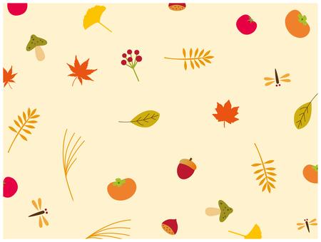 秋天的材料