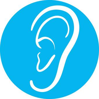 Rough icon ear
