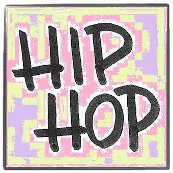 hip hop Pip hop multicolor