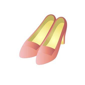 High heels (pink)