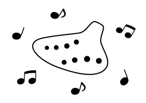 Ocarina of dancing notes