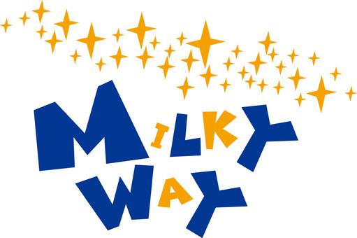 MILKY WAY ☆ Milky Way ☆ logo