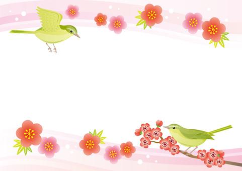Bird Frame Japanese style
