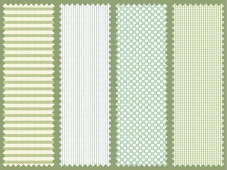 Cotton label (green)