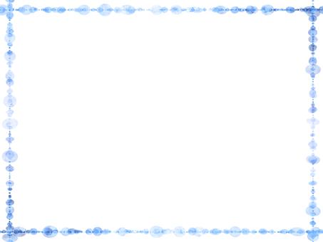 Dot frame (blue)