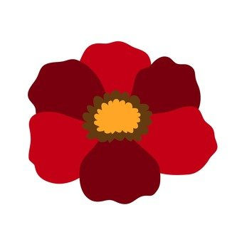 Red flower 14