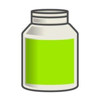 Supplement _ yellow green label