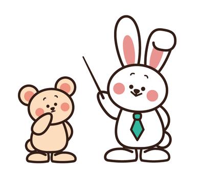 Usagi先生和熊學生
