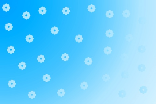 Background material · Flower pattern (Blue)