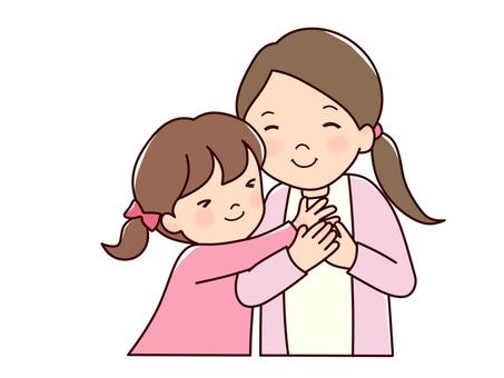 媽媽和女孩1