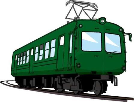 Green train 2