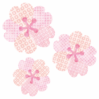 Cherry blossoms / Japanese pattern