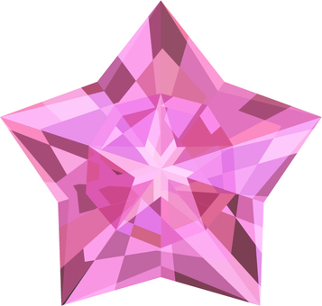 Star diamond _ pink