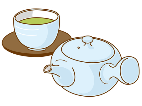 Things tea pot and water bath
