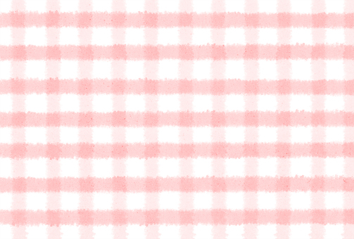 Hand-painted check pink