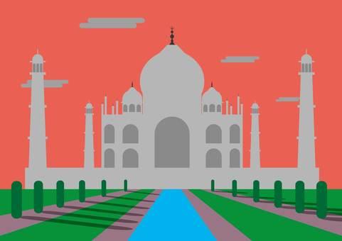 Taj Mahal (dusk)
