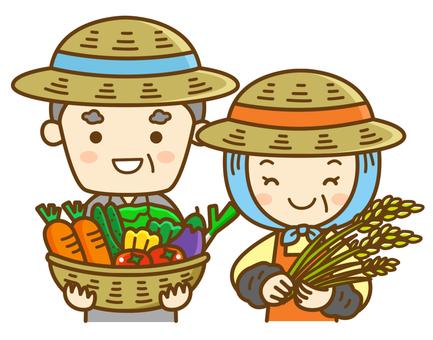 Farmer's couple