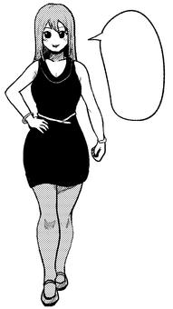 Manga balloon sister