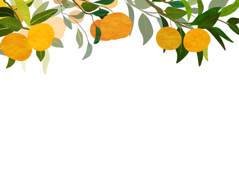 Tangerine tree frame