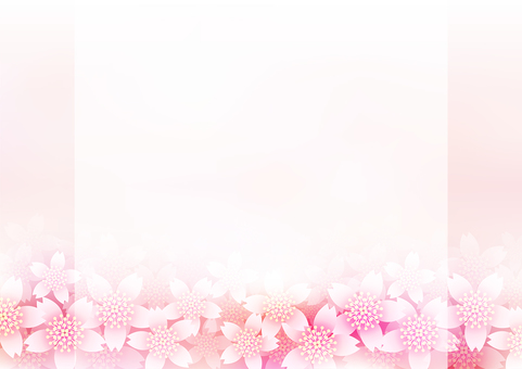 벚꽃 & 프레임 12