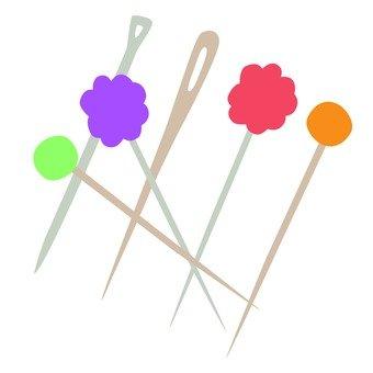 Needle & マ チ pin
