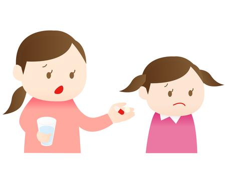 Children who do not like medicine