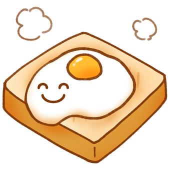 Nico Nico Fried Egg Toast