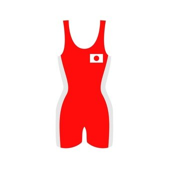 Wrestling wear red