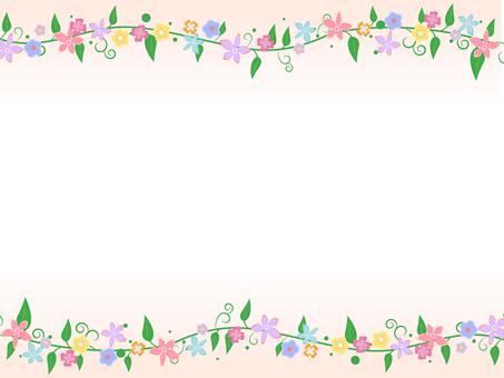 꽃 테두리 5