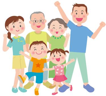 La familia saludable del verano Parte 2