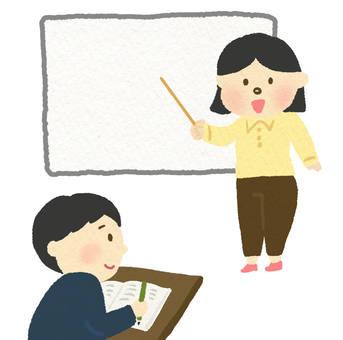 課程(教師和學生)