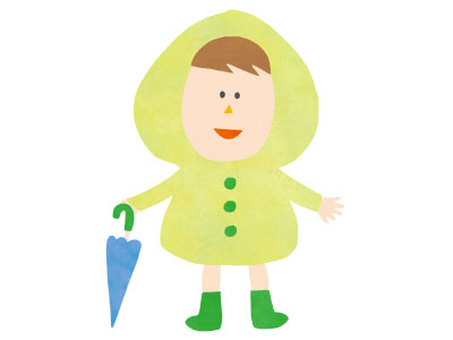 Raincoat kids 01