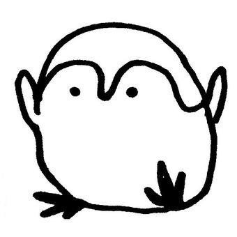 It looks like a penguin
