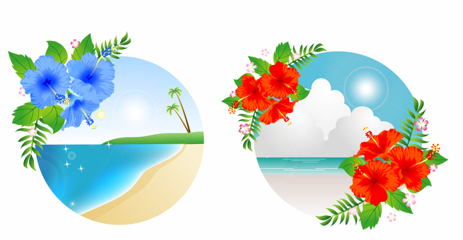 Tropical image banner