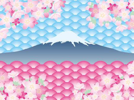 Fuji (44) Cherry blossoms in spring