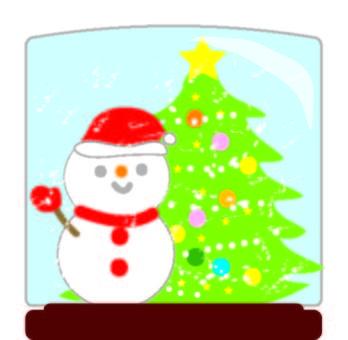크리스마스 스노우 글로브